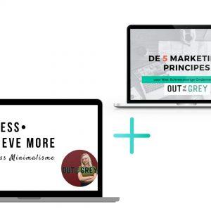 De 5 Marketingprincipes voor niet-schreeuwerige ondernemers-do less achieve more