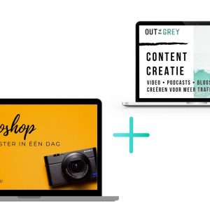 ZZP starter-contentcreatie plus photoshop master in een dag