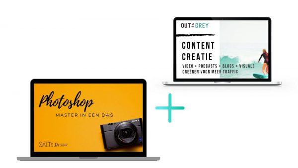 ZZP starter-contentcreatie plus photoshop master in een dag