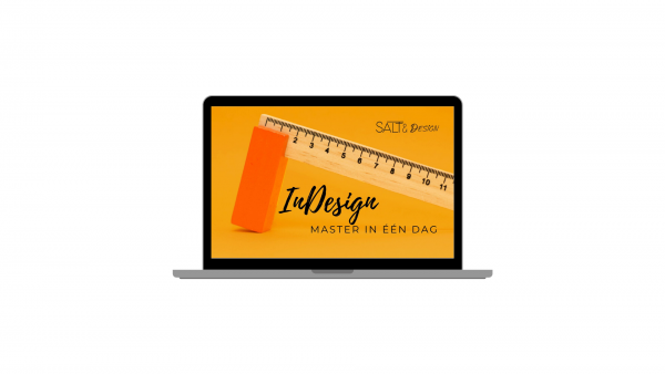 Online InDesign training in 1 dag